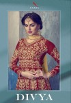 Kaara suits divya heavy embroidered lehangas Collection