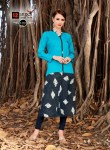 12 Angel design world presenting emily collection of casual long kurtis