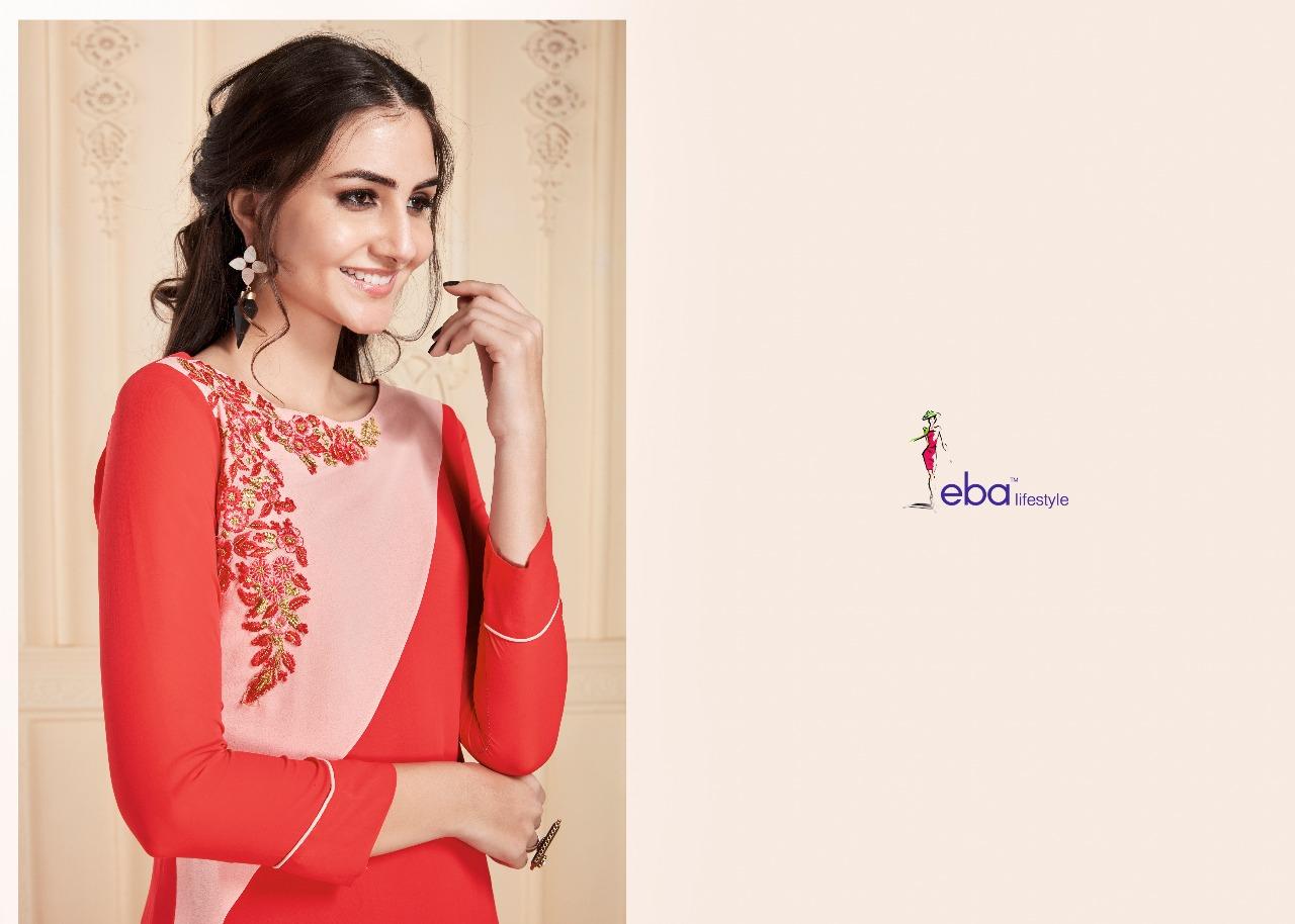 b91457ce033 Eba lifestyle presents eba vol 6 exclusive party wear Western kurtis