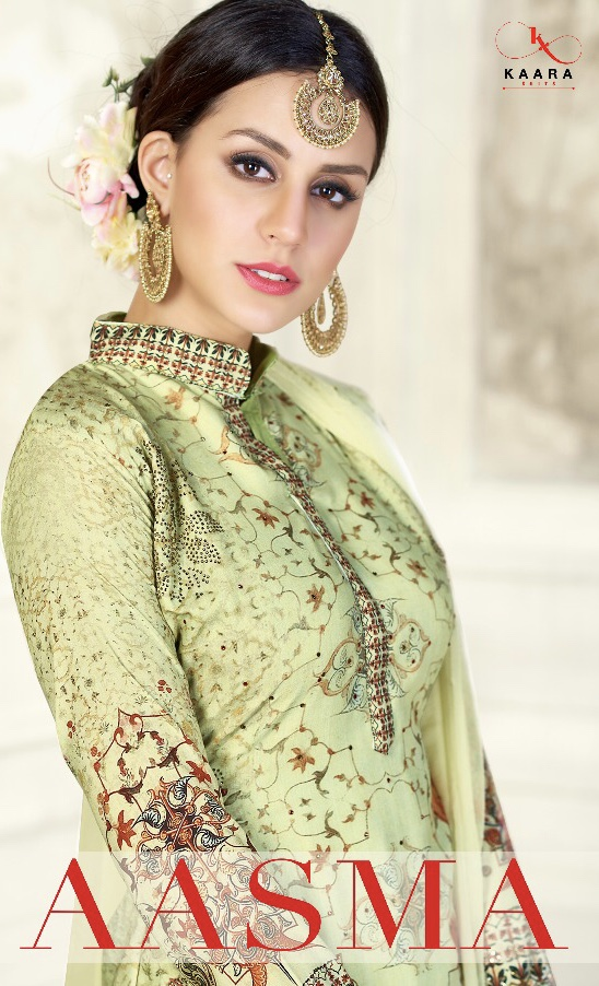 kaara presenting aasma simple with elegant look slawar kameez