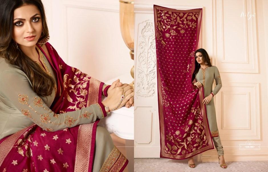 l t fabrics introduce nitya vol 120 ramzan latest collection of stylist salwar kameez