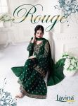 Lavina vol 27 presenting rouge party wear georgette salwar kameez
