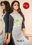 Lt nitya aura digital printed Kurties Catalog Wholsaler