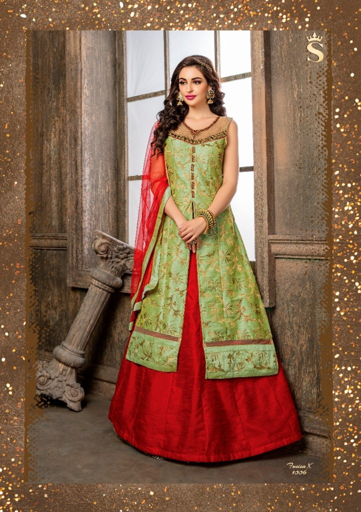 S4U launch fushion X vol 10 Eid collection of Indo western gown
