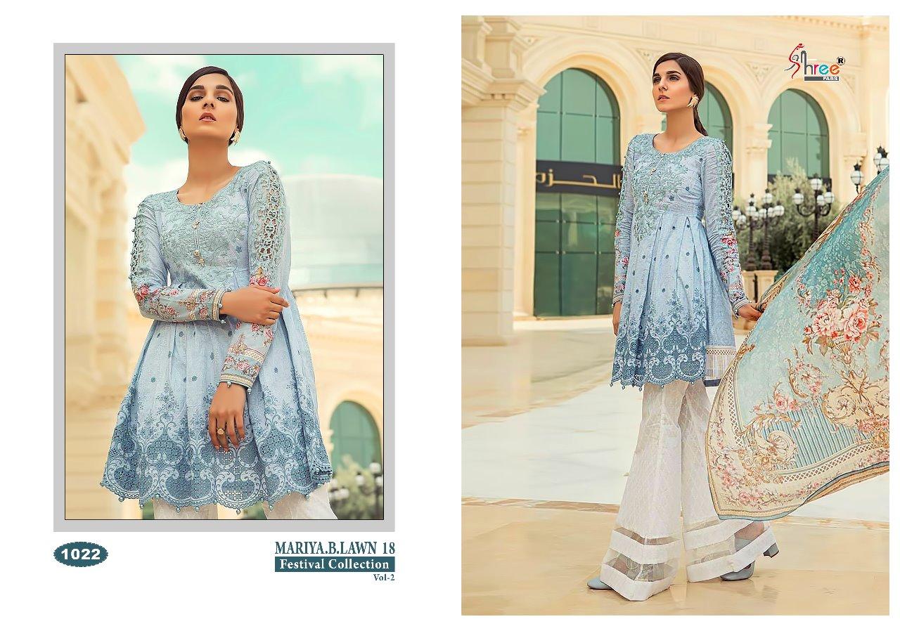 720f26fb96 Shree fabs mariya b lawn 18 festival collection salwar Kameez Catalog  Wholsaler