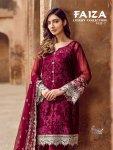 Shree fabs presents faiza luxury  collection vol 7 ramzan festive collection of heavy salwar kameez