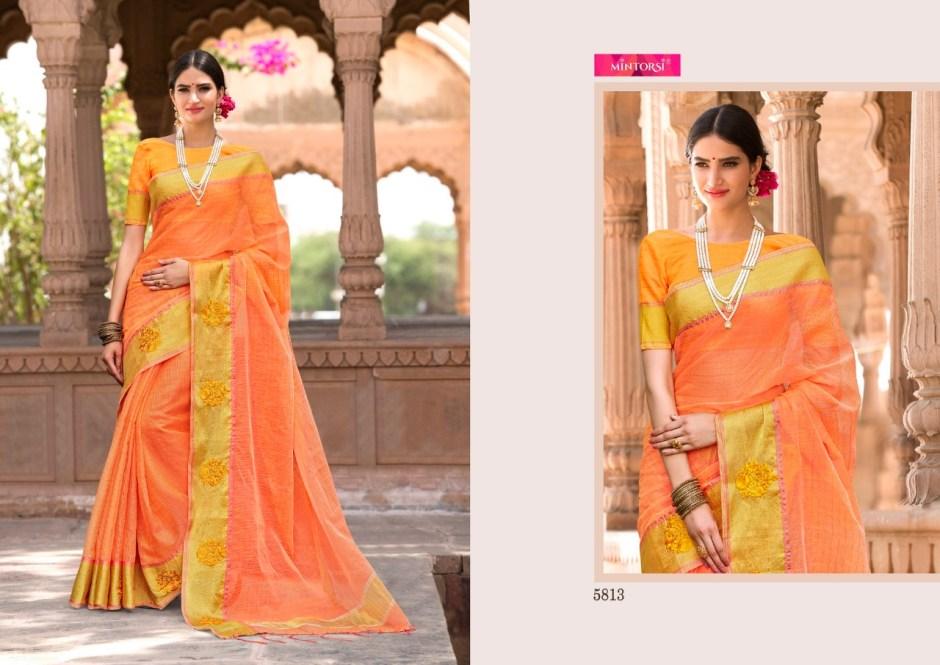 Varsiddhi Launch mintorsi designer banarasi silk sarees collection