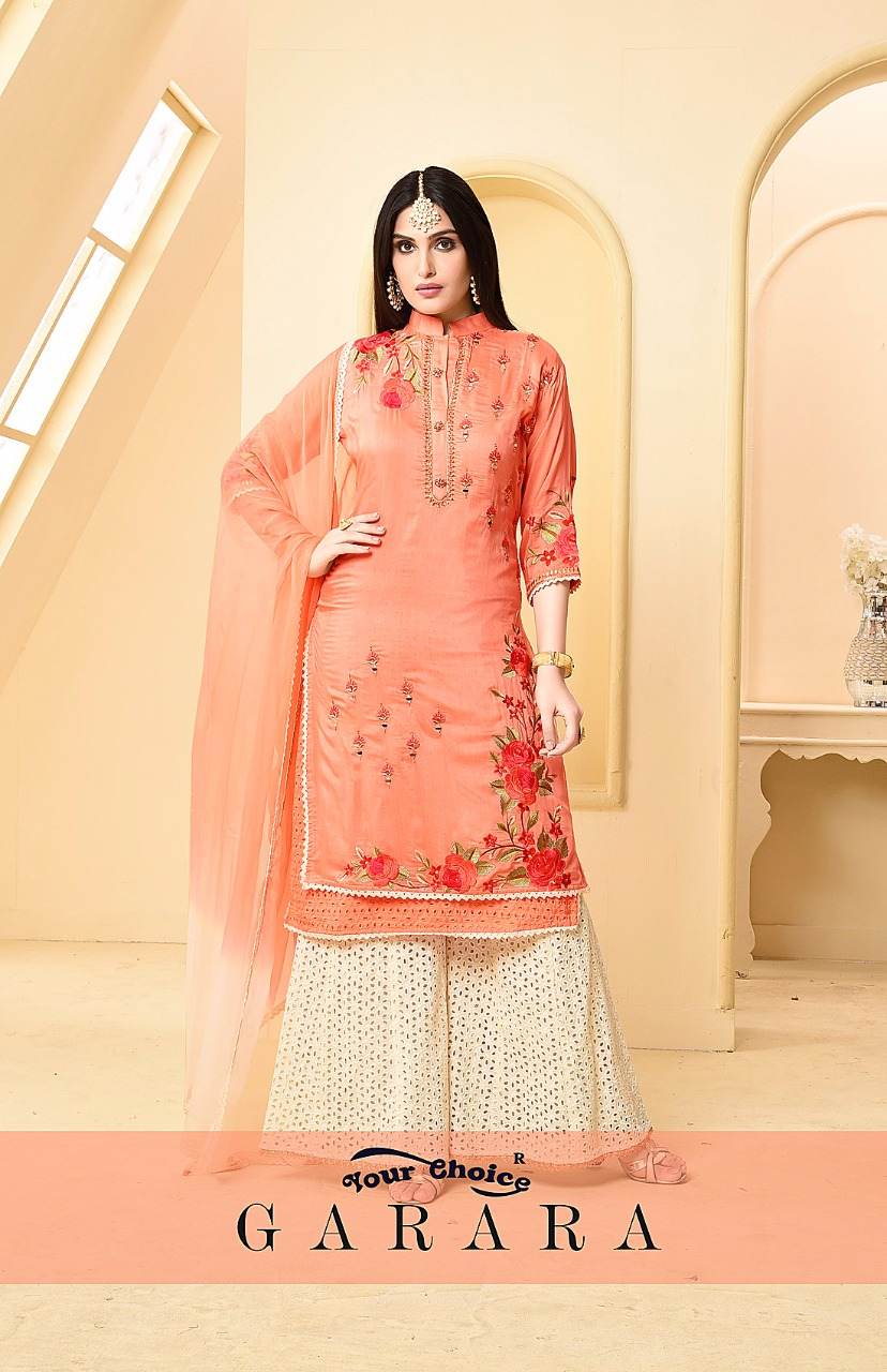 117ac02232 Your choice presenting garara ramzan special summer collection of cotton  salwar kameez