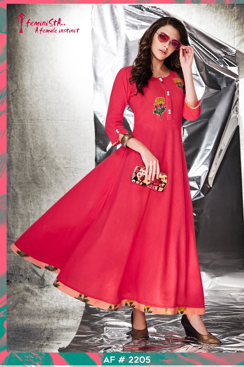 Arena fashions launch feminista stylish collection of kurtis