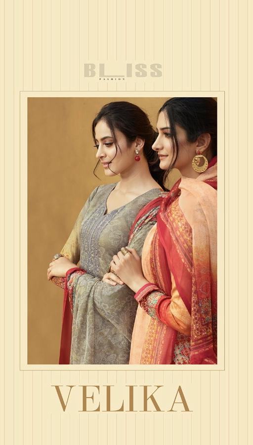 Bliss Presenting velika cotton printed summer wear salwar kameez