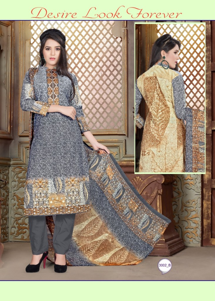 Chandra fashion launch cotton sutra vol 3 Casual cotton wear salwar kameez