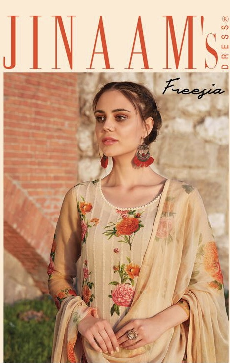 Jinaam dress presents jinaam's freesia spring summer wear salwar kameez