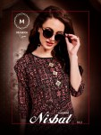 Mahra presenting nisbat vol1 exclusive collection of kurtis