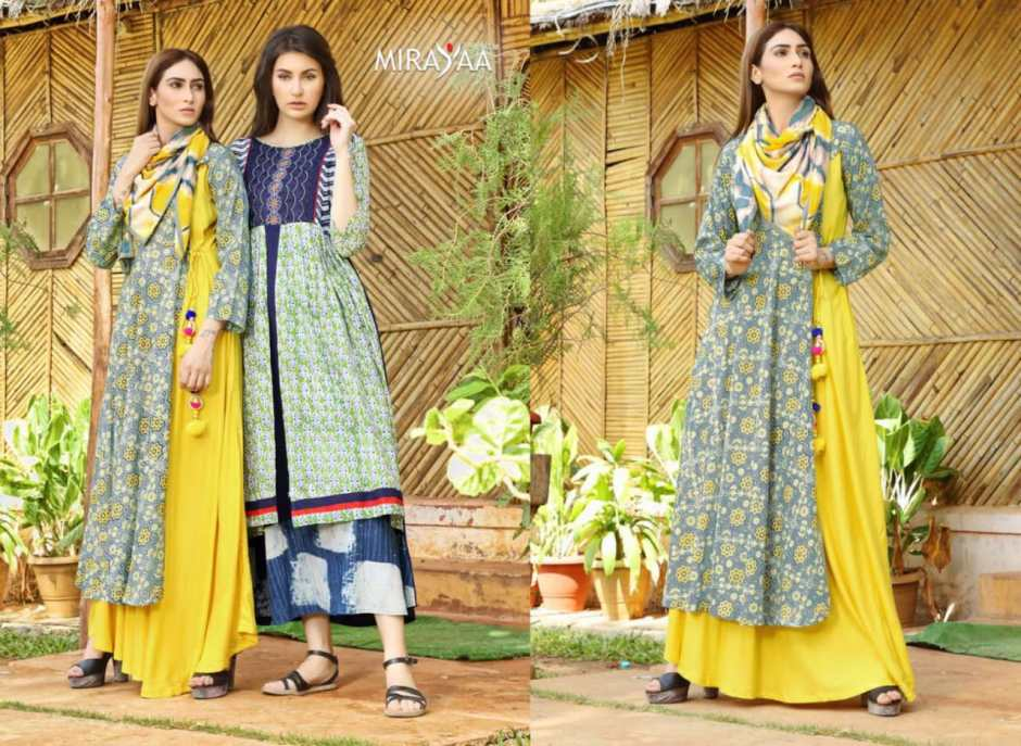 Mirayaa Launch page 3 designer party wear kurtis