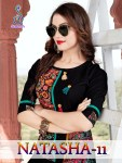 Suvesh presents natasha 11 simple  casual wear kurtis