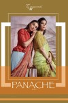 T and M designer presenting panache issue 12 fancy collection of sarees