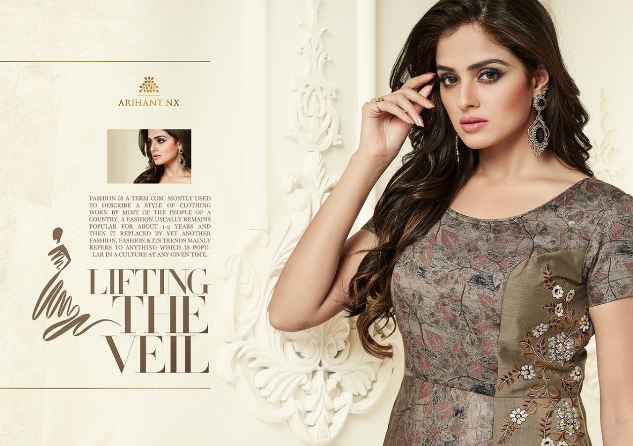 d73f6ecf00 Arihant designer presents infinity NX Stylish look concept of kurtis