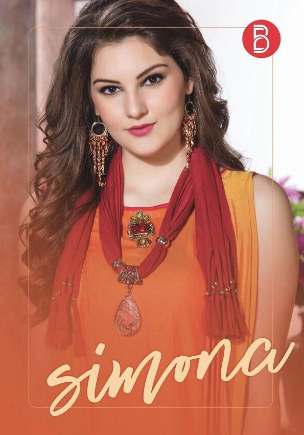 B brand presents simona designer stylish wear kurtis concept