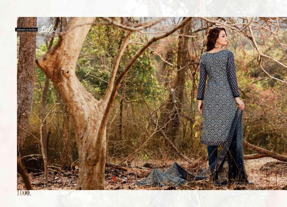 Bela fashion launch woods casual stylish Running wear salwar kameez