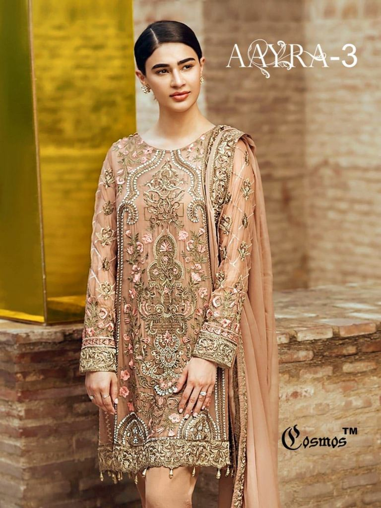 4b3ebf280e Cosmos Fashion presenting aayra 3 Pakistani style concept of salwar kameez