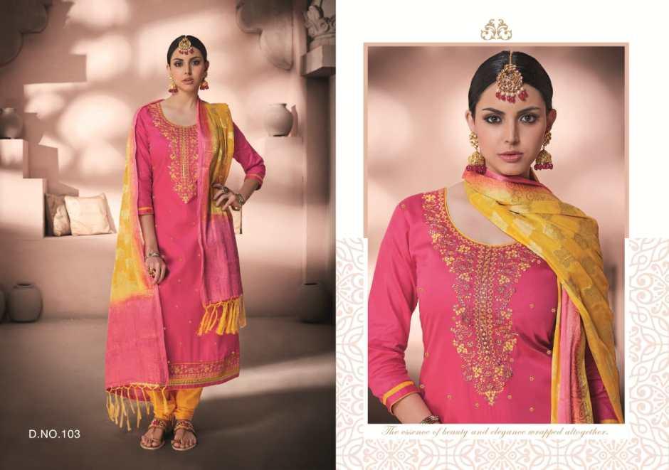 Kalarang creation presents alankar beautiful concept of salwar kameez