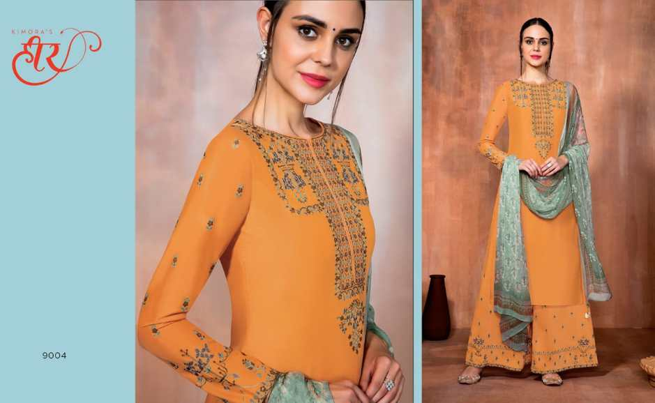 Kimora fashion presenting heer 41 stylish new pattern concept Of salwar kameez