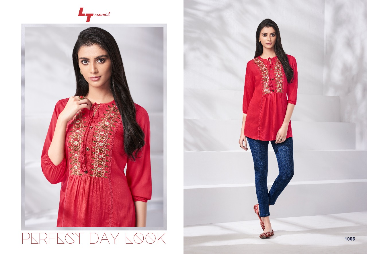6487dffd703 LT fabrics presents essentials vol 1 beautiful colllection of top style  kurti