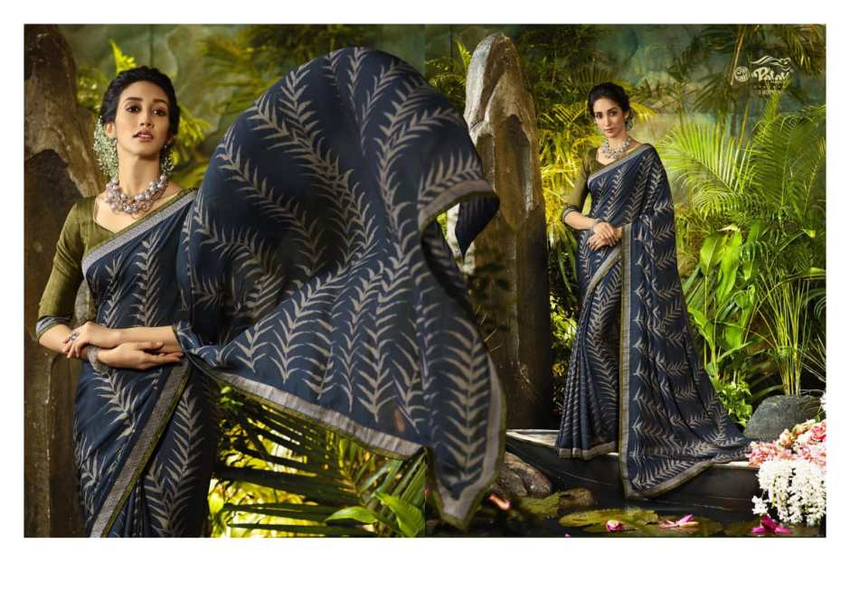 Palav Presenting paarna 4 stylish casual wear sarees collection