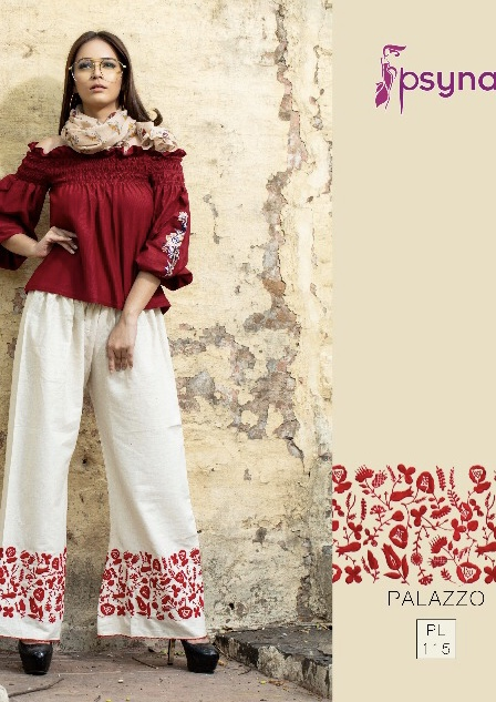 Psyna presenting psyna  palazzo vol 11 trendy collection of palazzos