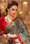Saroj presenting sunehri beautiful heavy wear sarees collection