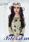 Smriti trendz presents blossom casual fancy wear kurtis concept