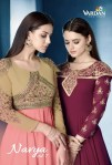 Vardan designer presenting navya vol 7 beautiful party wear gown concept