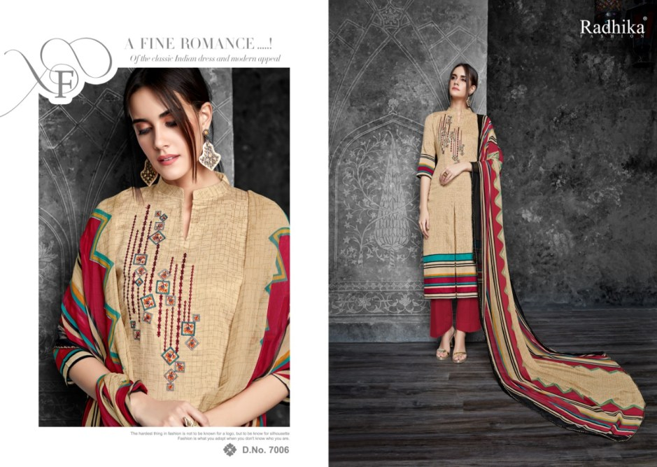 Azara presents almas vol 7 casual wear collection of salwar kameez