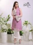 Inaya by studio libas presents festive season tunic Style kurti with bell pants concept