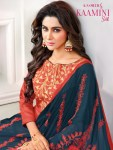 Kasmeera presenting kamini silk Simple Casual wear salwar kameez collection