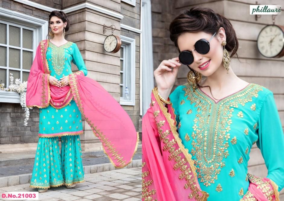 Kesari presents phillauri vol 8 stylish heavy salwar kameez collection