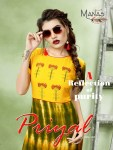 Manas presents priyal vol 3 casual stylish ready to wear kurtis collection