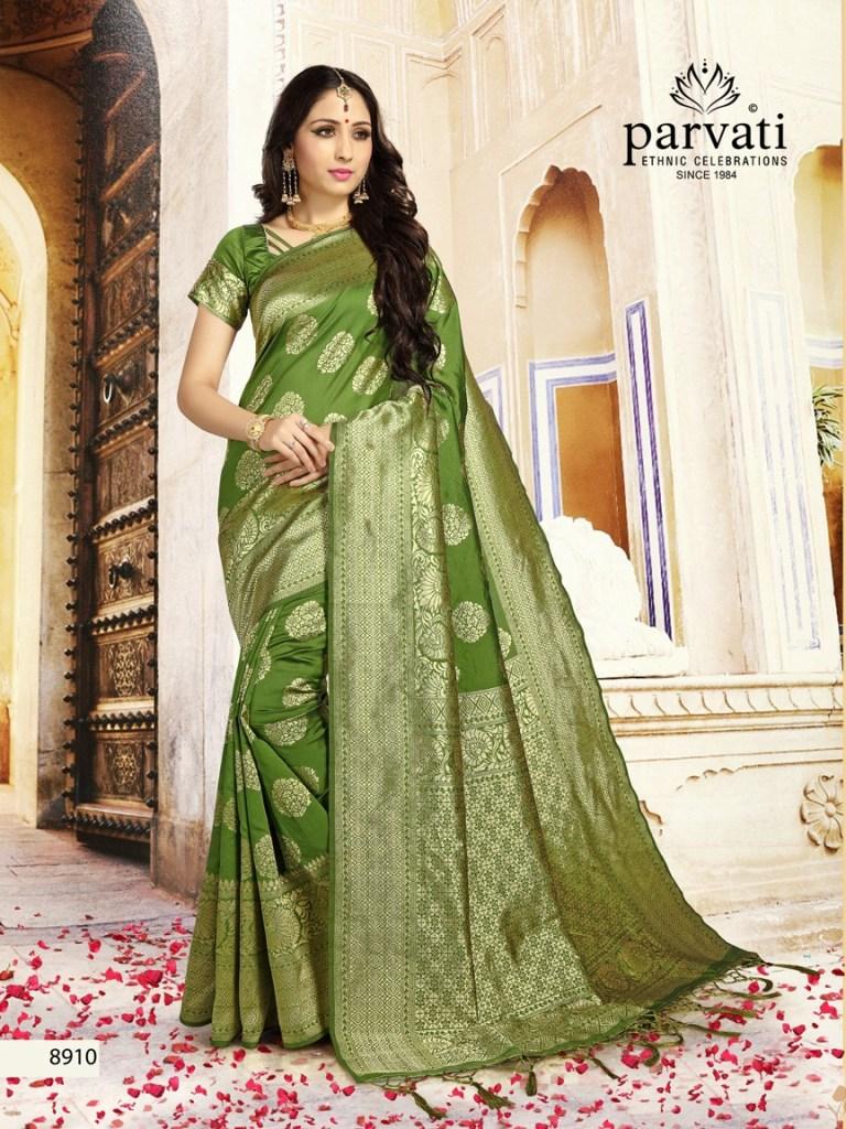 Parvati presents silk rapier vol 2 rich look casual sarees collection