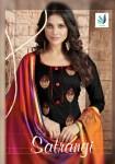 R r fashion presents satrangi stylish look salwar kameez collection