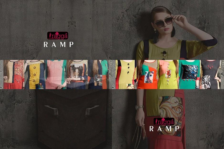 Raaga launch ramp a line kurti with digital printe Kurtis concept