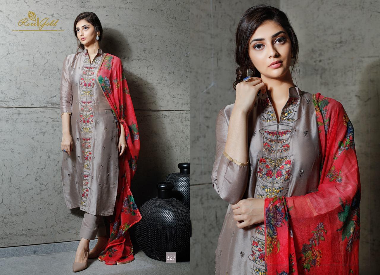 ef757a2c2c Rvee gold presenting retrospeck simple elegant look collection of salwar  kameez