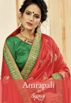 Saroj presents amrapali Rich look heavy concept  sarees