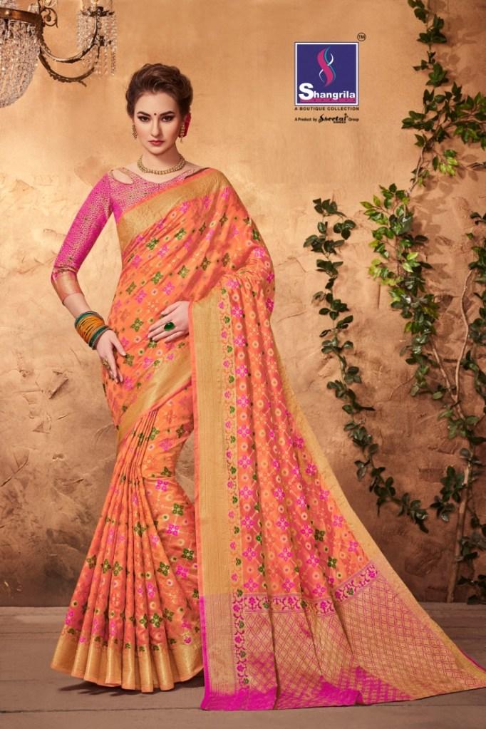 Shangrila presents rajkot silk pure weaving silk beautiful collection of sarees