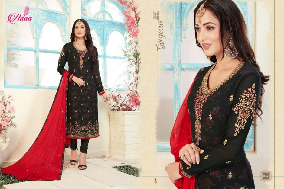 Shree shalika presents adaa apsara Heavy festive collection of salwar kameez