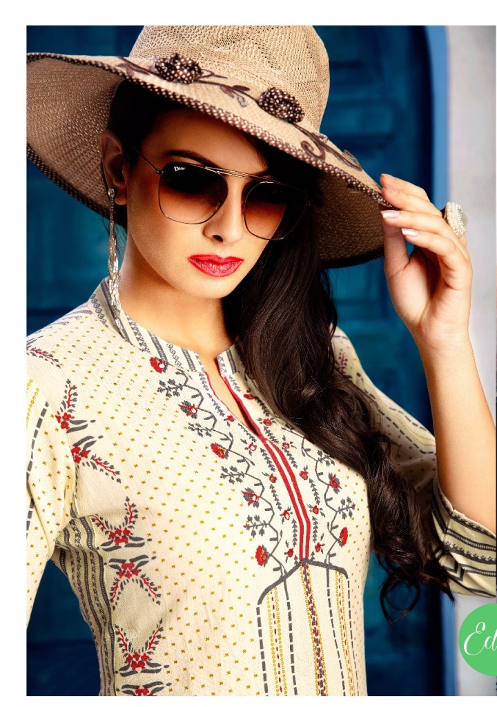 vesh pressnts eclairs stylish collection of kurtis