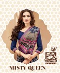 Vishal sarees presents misty queen stylish Routine wear sarees collection