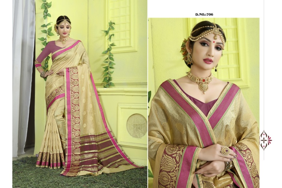 Dwarka nath silk mills presenting sanam casual daily wear rich look collection of sarees