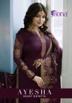 Fiona presenting ayesha heavy dupptta beautiful heavy traditional festive season collection of salwar kameez