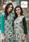 Hinaya zara vol 3 simple casual wear kurtis concept