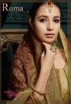 Jinaam dress P LTD launchs roma harmony beautiful ethnic rich look collection of salwar kameez